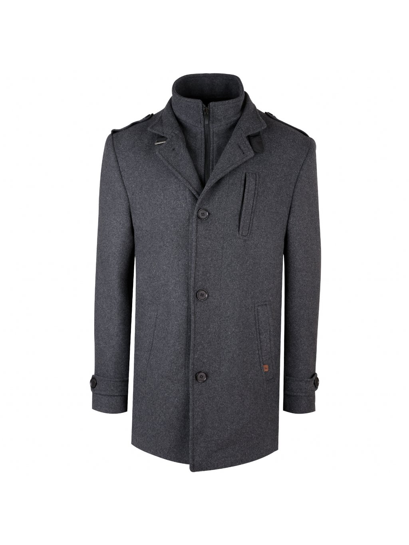 Pánský kabát TREVI - šedý