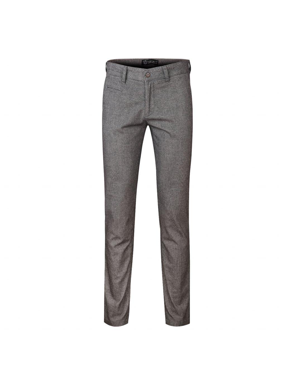 Kalhoty OLIVER šedé - vzor 2