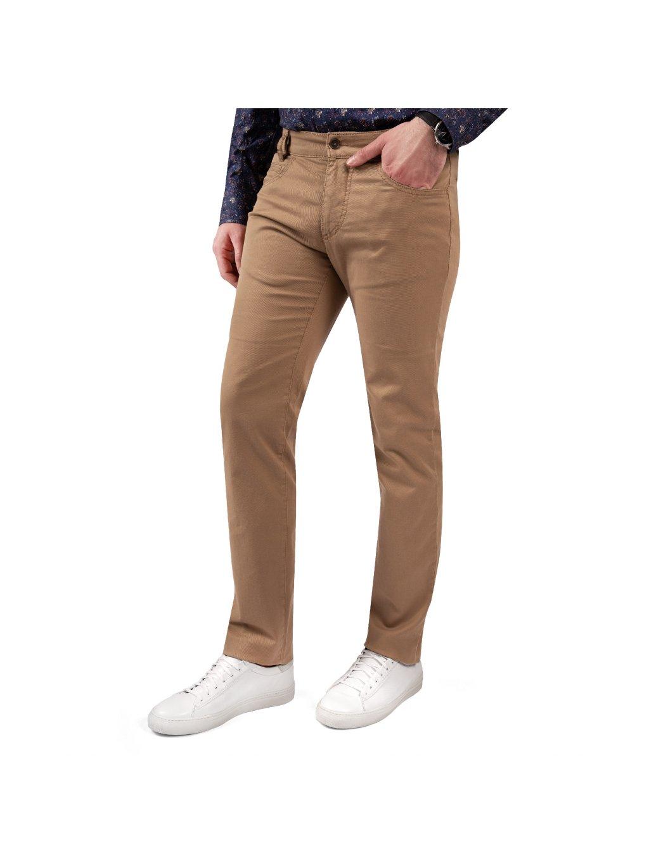 kalhoty GEORGE camel