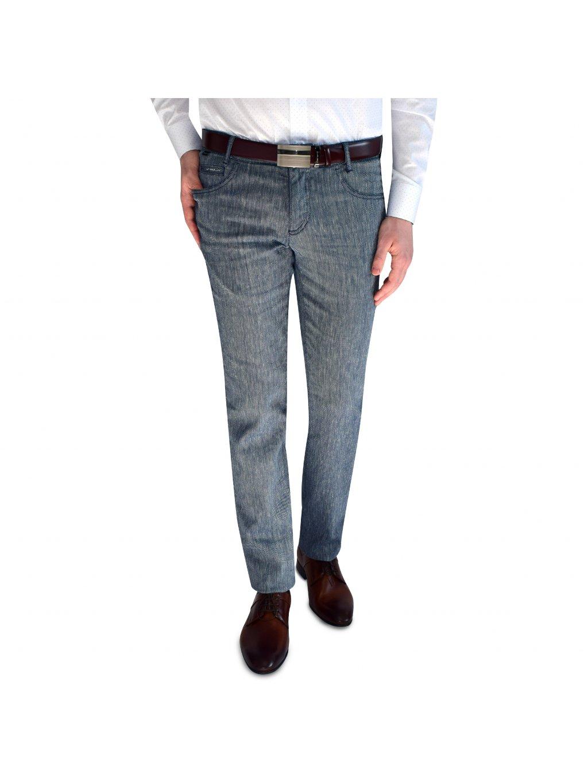 Pánské kalhoty FERATT šedomodré