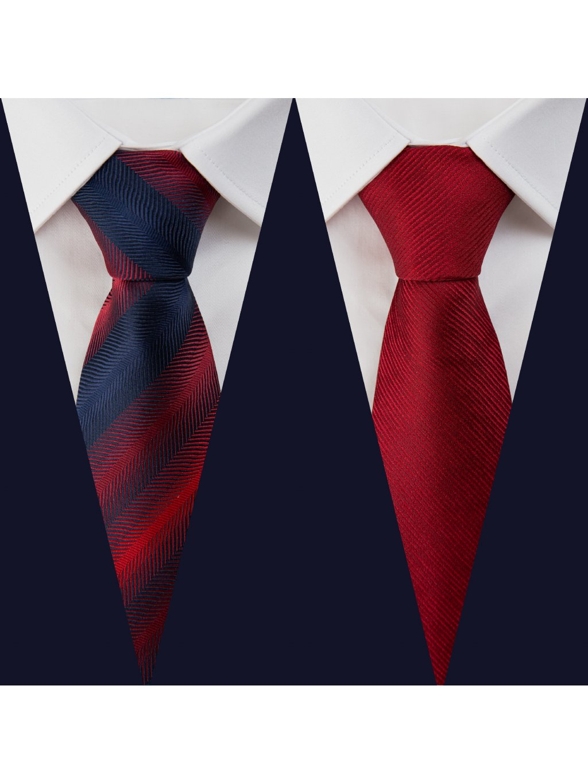 Set 2: Košile F-LINE II Slim + 2 kravaty