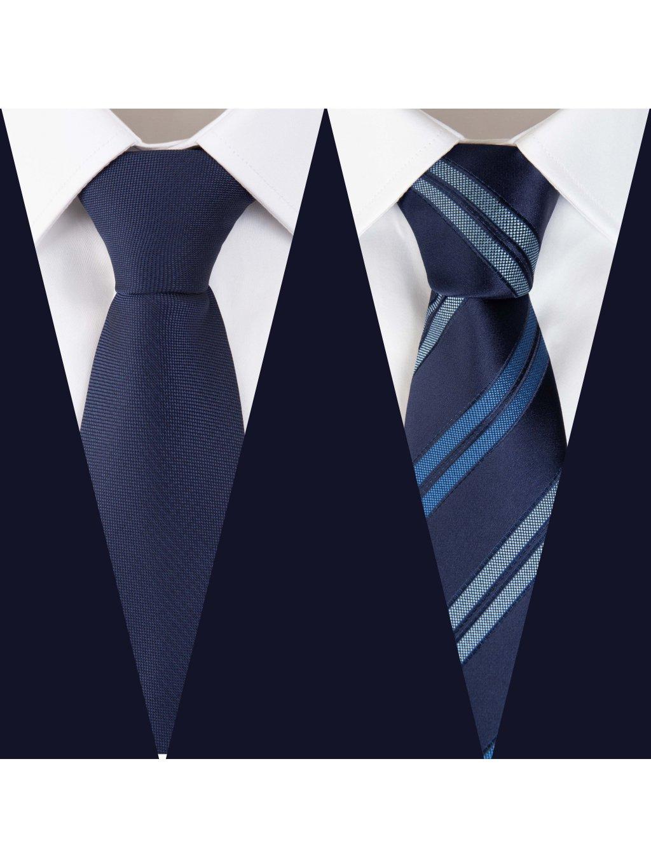 Set 6: Košile F-LINE I Slim + 2 kravaty