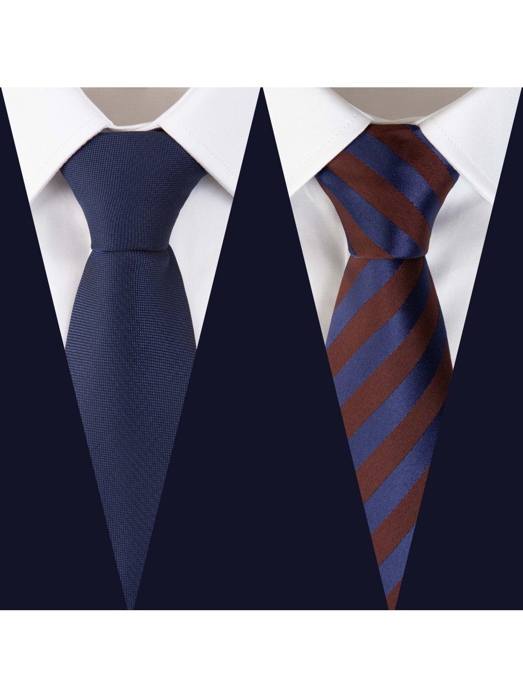Set 8: Košile F-LINE I Slim + 2 kravaty