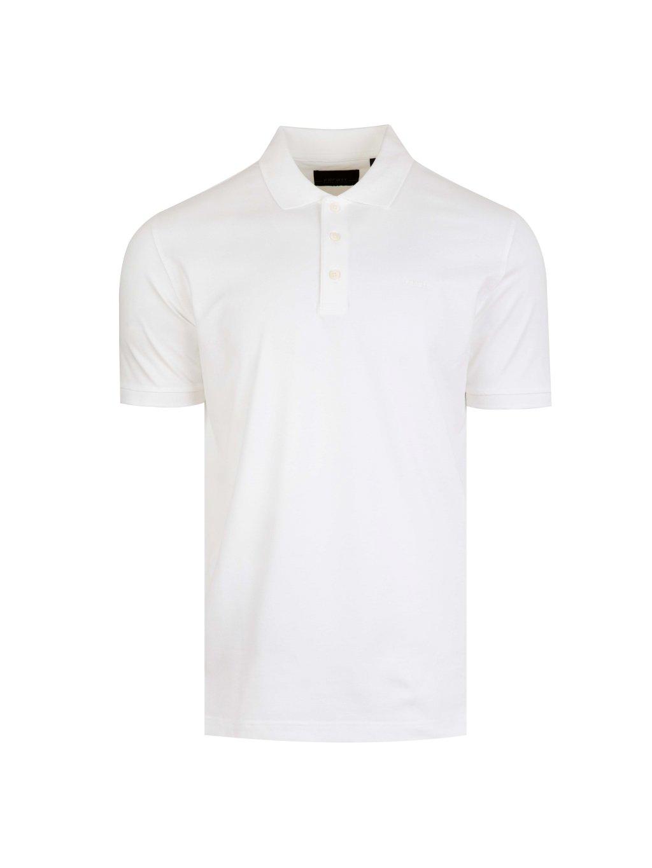 Pánské bílé polo tričko Feratt