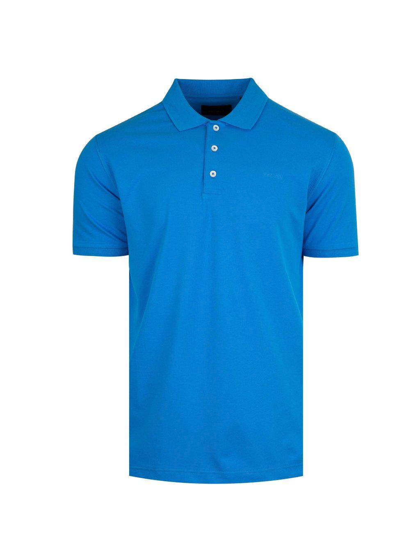 Pánské polo tričko modré Feratt