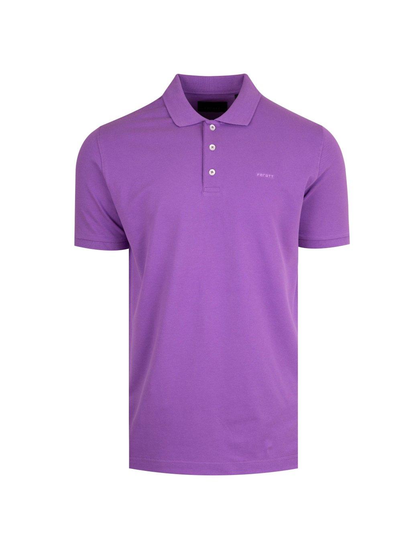 Pánské polo tričko fialové Feratt