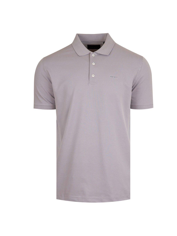 Pánské šedé polo tričko