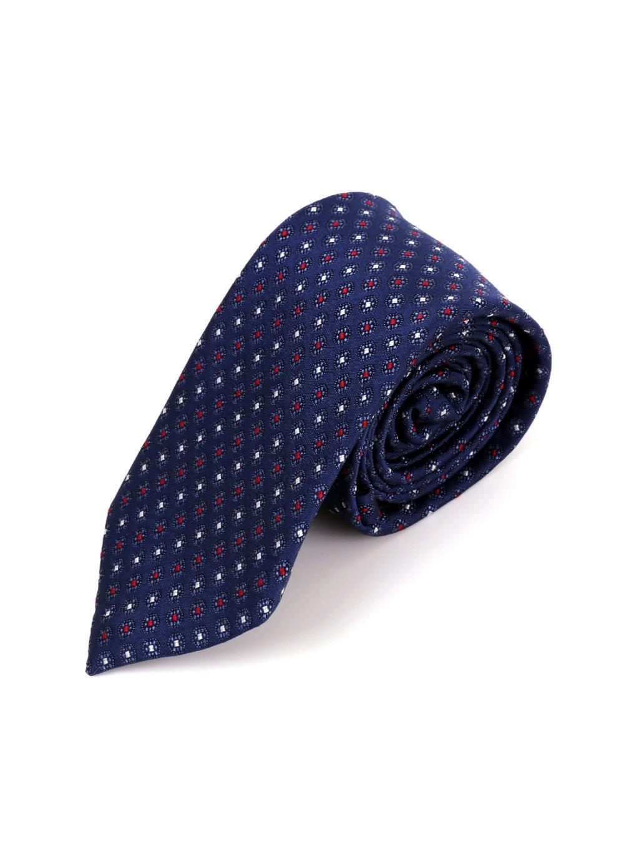 Kravata modrá se vzorem L189
