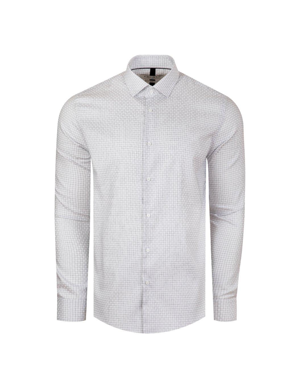 Pánská košile FERATT JOHN slim bílá vzor