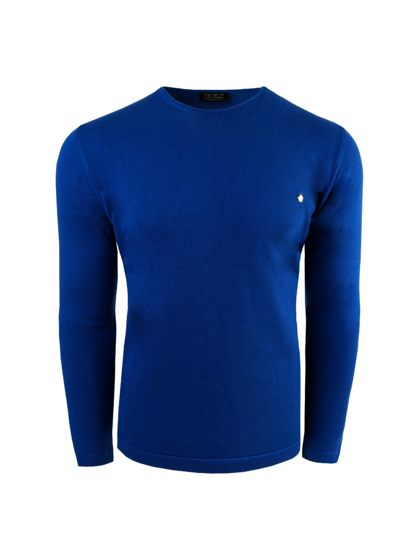 svetr LEON modrý