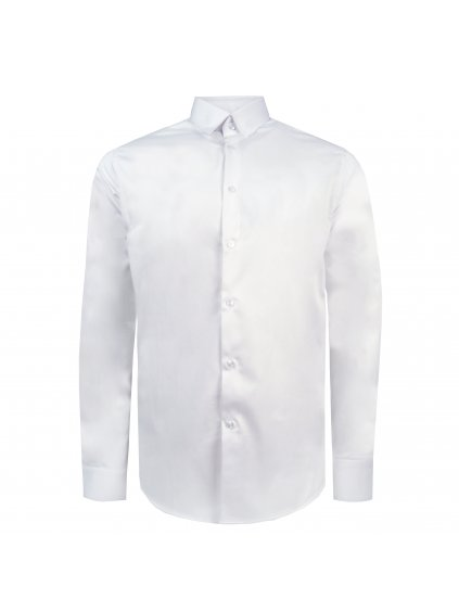 Pánská košile FERATT CLASSIC COLORS SLIM bílá