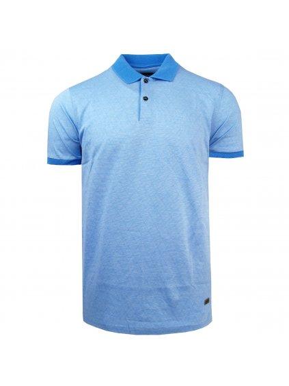 pánská polo košile FERATT CHARLIE sv. modrá