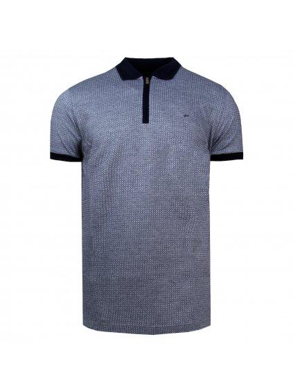 pánská polo košile FERATT EDVARD šedočerná