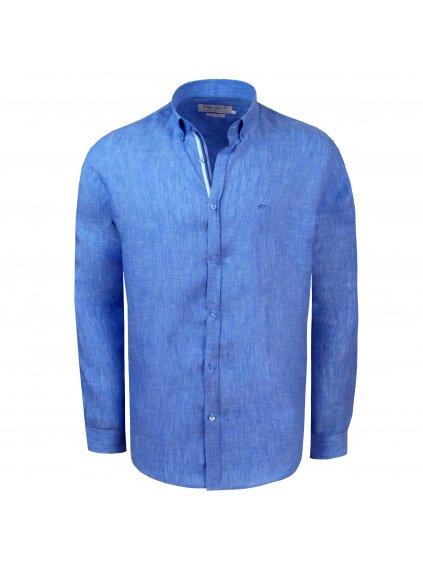 Pánská košile FERATT Caribbean modrá