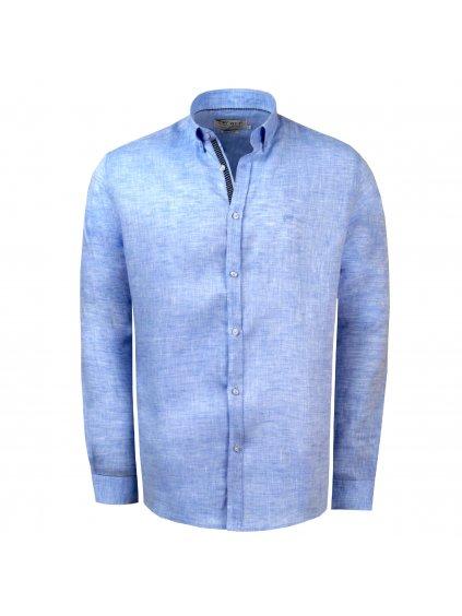 pánská košile FERATT Caribbean sv. modrá