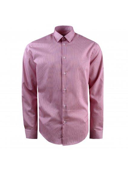 Pánská košile FERATT TOMMASO Modern červená