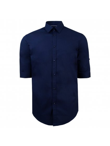 Pánská košile FERATT PATRICK Modern. tm. modrá