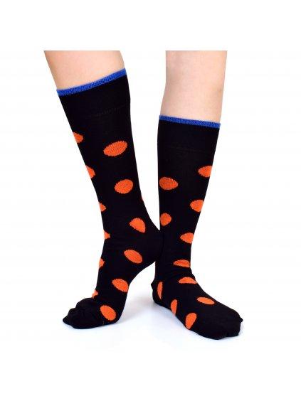 Veselé pánské ponožky s puntíky BIGDOTS