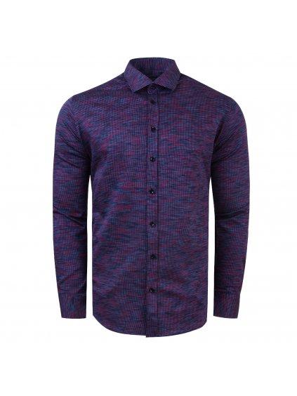 pánská košile FERATT CHARLIE Slim modrofialová