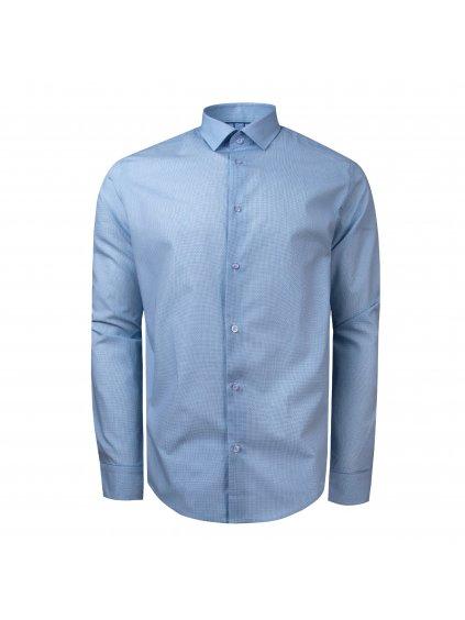 Pánská košile FERATT JACK Modern modrobílá