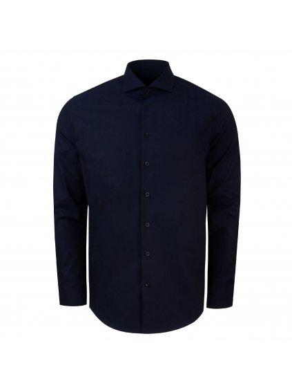 Pánská košile FERATT PIETRO Slim tm. modré