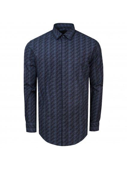 košile MICHAEL II Modern černá