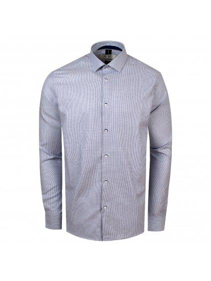 Pánská košile FERATT PERF Regular sv. modrá