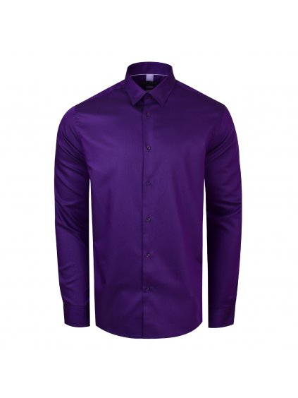 košile BASIC COLOR fialová