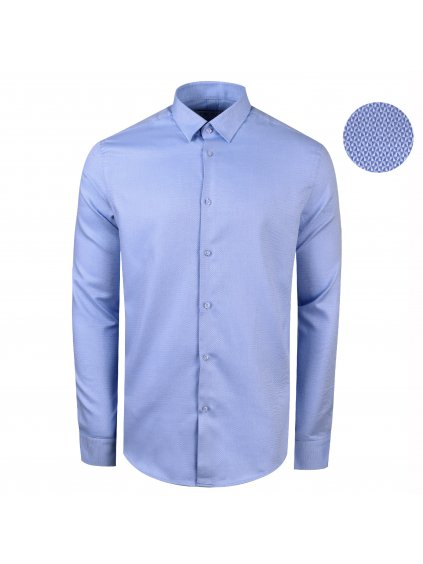 košile INDODA Modern sv. modrá
