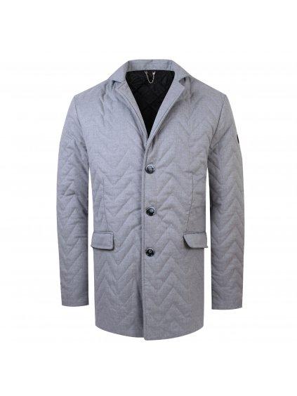 kabát DARIO sv. šedý