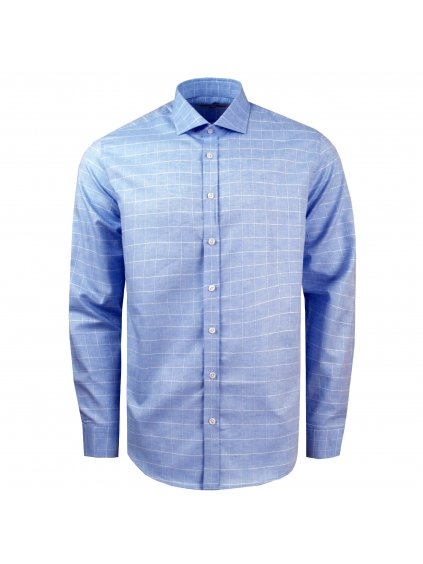 Pánská košile FERATT FELIPE SLIM FIT. Sv.modrá