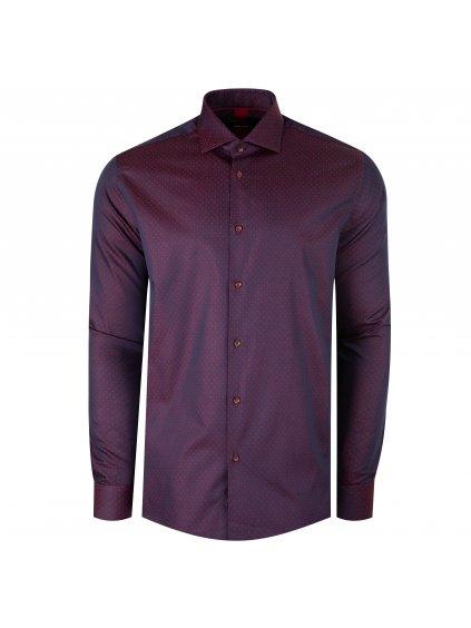 Pánská košile FERATT CAMERON Regular bordó