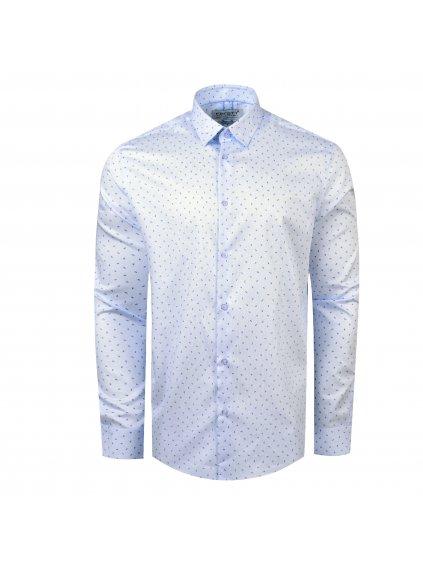 pánská košile FERATT ADAMS Reg.sv. modrá