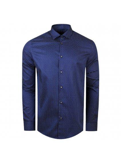 pánská košile FERATT VALERIO Slim modrá