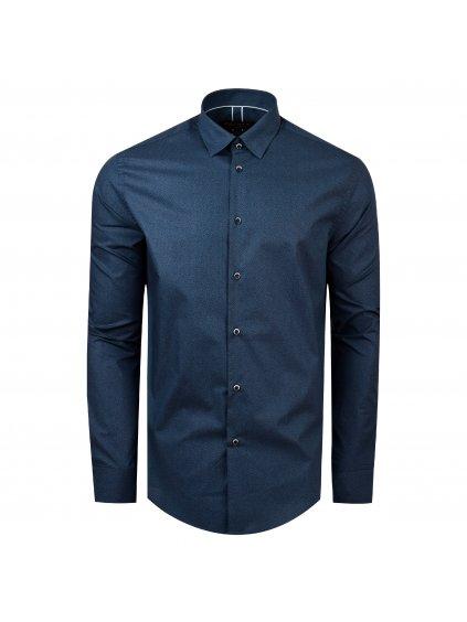 košile TOM Modern modrá