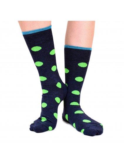 Ponožky FERATT šedomodré