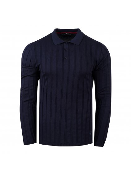 pánská polo košile FERATT MARCUS tm. modrá