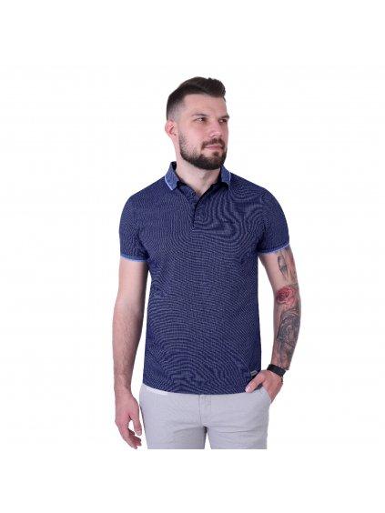 Pánská polo košile FERATT CURTIS modrá
