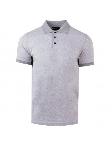 pánská polo košile FERATT Joe šedá
