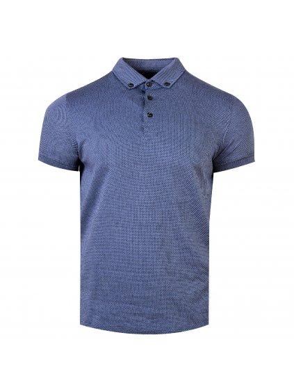 Pánská polo košile FERATT Jamie modrá