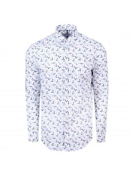 Pánská košile FERATT JONÁŠ Slim bílá