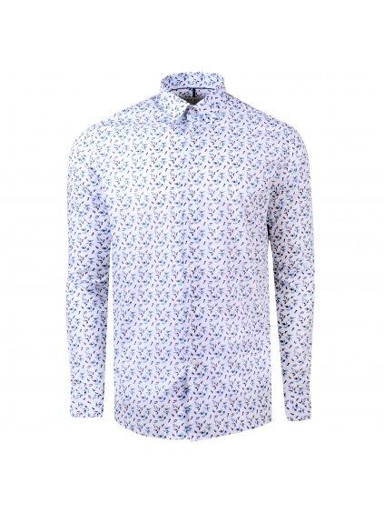 košile FLEUR Regular bílá