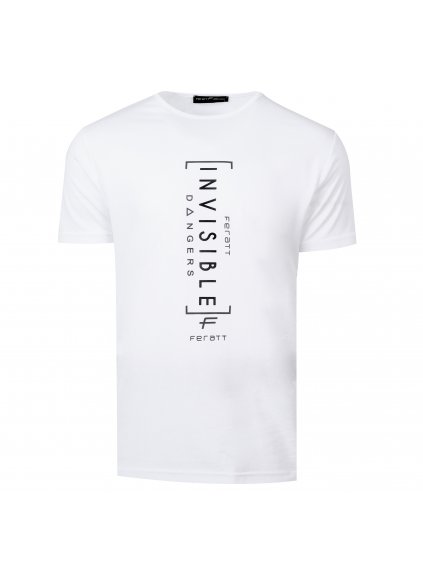 Tričko INVISIBLE bílé