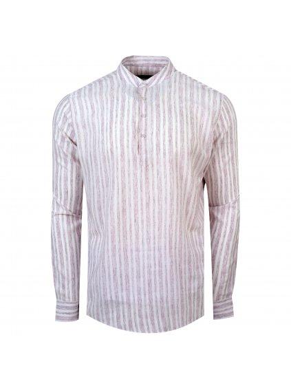 pánská košile FERATT FRANKIE Slim bordó