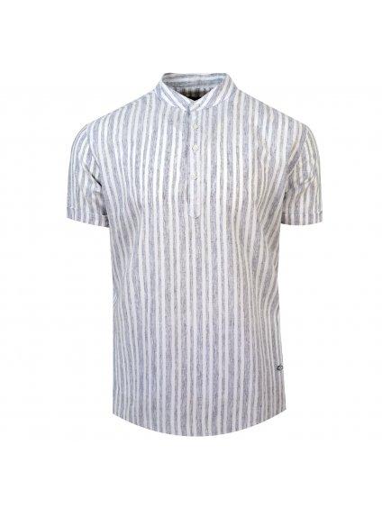 pánská košile FERATT FRANKIE Regular krátký r. šedá