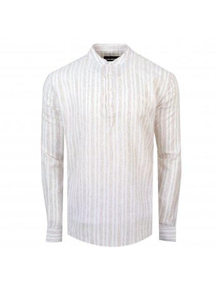 pánská košile FERATT FRANKIE Regular béžová