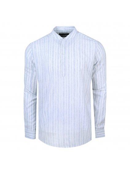 košile FRANKIE Slim fit sv.modrá