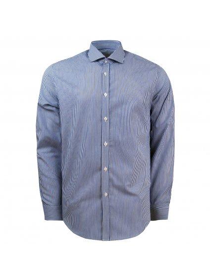 pánská košile FERATT SEBASTIAN Slim modrobílá
