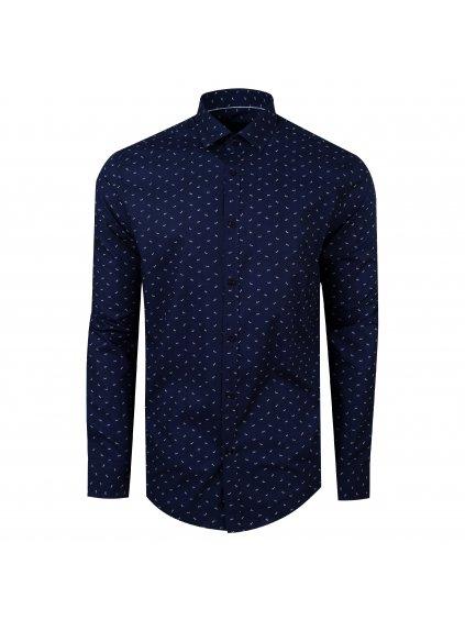 pánská košile FERATT LOVE Modern modrá