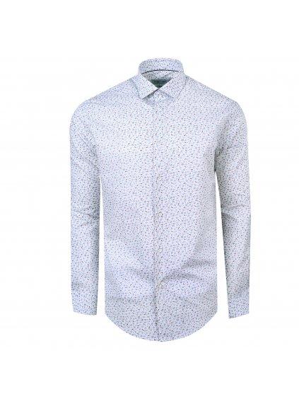 Pánská košile FERATT LOVE Modern bílá m.
